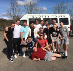 Scotty Tours Stag Weekend To Liverpool 8 Seater